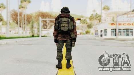 Battery Online Russian Soldier 7 for GTA San Andreas third screenshot