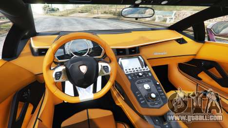 Lamborghini Aventador v1.1 for GTA 5