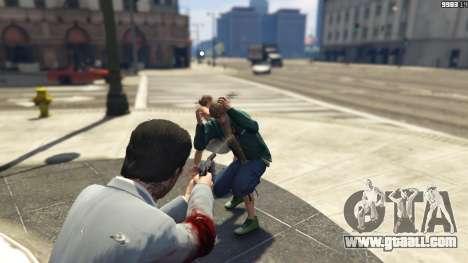 GTA 5 Realistic Bullet Damage second screenshot