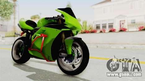 Ducati 998R Modif Stunt for GTA San Andreas right view