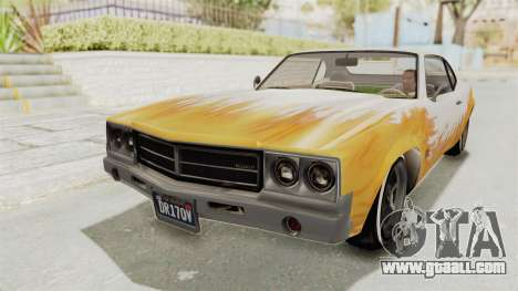 GTA 5 Declasse Sabre GT2 B for GTA San Andreas side view