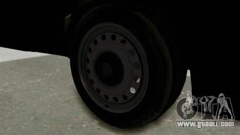 Volkswagen Golf 2 Tuning for GTA San Andreas back view