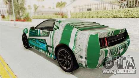 GTA 5 Vapid Dominator v2 SA Style for GTA San Andreas