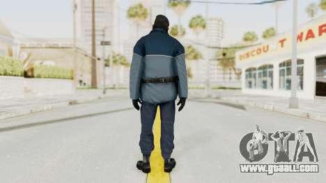 Bourne Conspirancy Zurich Police v1 for GTA San Andreas third screenshot