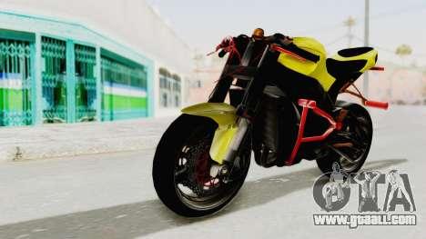 Kawasaki Ninja ZX-10R Nakedbike Stunter for GTA San Andreas