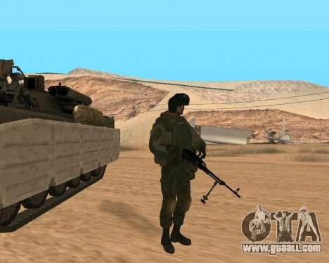 Special forces of the Russian Federation for GTA San Andreas sixth screenshot