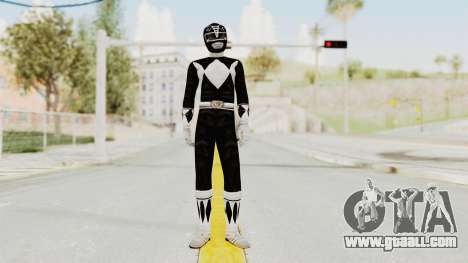 Mighty Morphin Power Rangers - Black for GTA San Andreas second screenshot