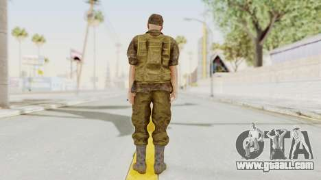 MGSV The Phantom Pain Soviet Union No Sleeve v1 for GTA San Andreas third screenshot