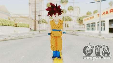 Dragon Ball Xenoverse Gohan Teen DBS SSG v2 for GTA San Andreas second screenshot