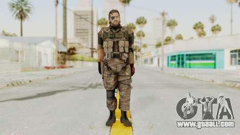 MGSV The Phantom Pain Venom Snake Wetwork for GTA San Andreas second screenshot