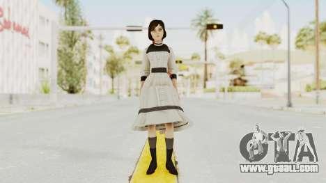 Bioshock Infinite Elizabeth Young for GTA San Andreas second screenshot