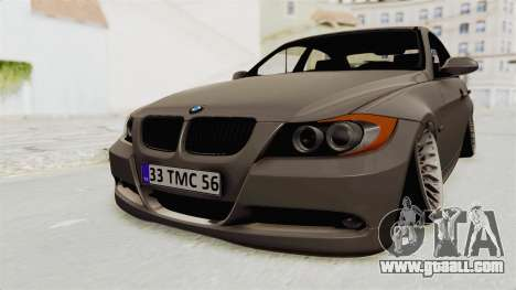 BMW 330i E92 Camber for GTA San Andreas right view