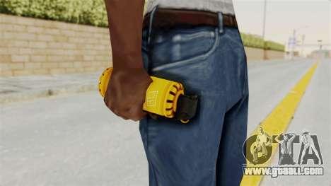 Tear Gas Gold for GTA San Andreas third screenshot