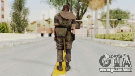 MGSV The Phantom Pain Venom Snake Scarf v6 for GTA San Andreas third screenshot