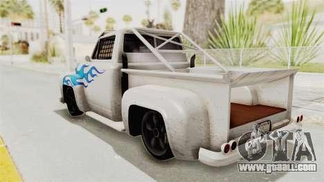 GTA 5 Slamvan Race PJ1 for GTA San Andreas left view