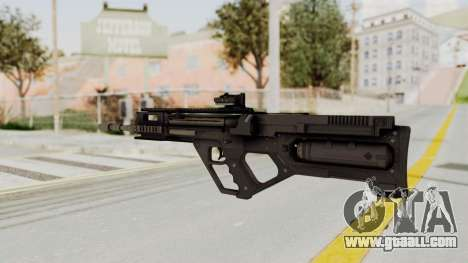 Integrated Munitions Rifle Black for GTA San Andreas second screenshot