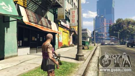 GTA 5 Real Flamethrower 1.5 fourth screenshot