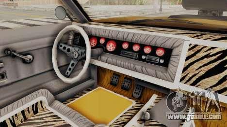 GTA 5 Declasse Sabre GT2 B IVF for GTA San Andreas side view