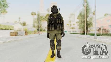 Advanced Warfare North Korean Assault Soldier for GTA San Andreas second screenshot