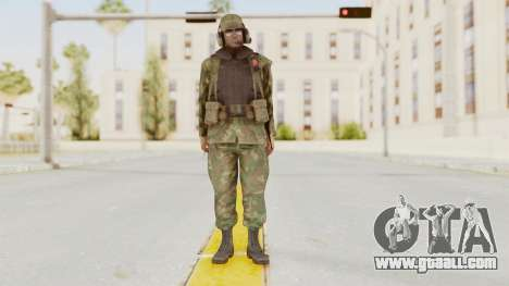 MGSV Ground Zeroes US Pilot v1 for GTA San Andreas second screenshot