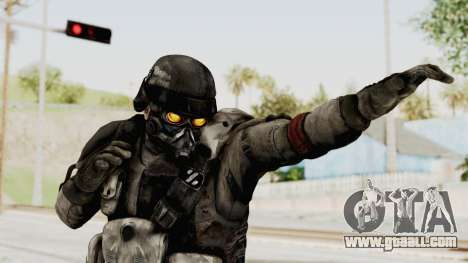 Helghan Assault Trooper without Pipes for GTA San Andreas