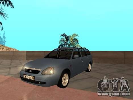 Lada Priora IVF for GTA San Andreas