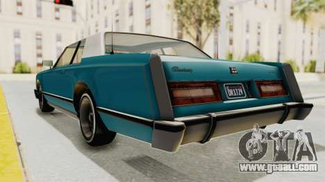 GTA 5 Dundreary Virgo Classic Custom v3 for GTA San Andreas right view