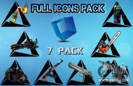 Full Icons Pack for GTA San Andreas