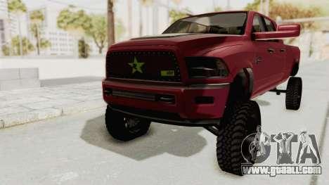 Dodge Ram Megacab Long Bed for GTA San Andreas