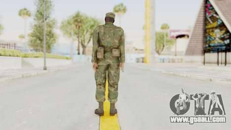 MGSV Ground Zeroes US Soldier Armed v1 for GTA San Andreas third screenshot