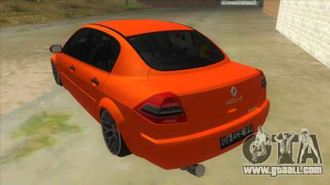 Renault Megane II Special TR for GTA San Andreas back left view