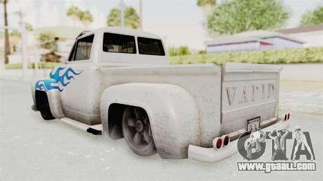 GTA 5 Slamvan Lowrider PJ1 for GTA San Andreas left view