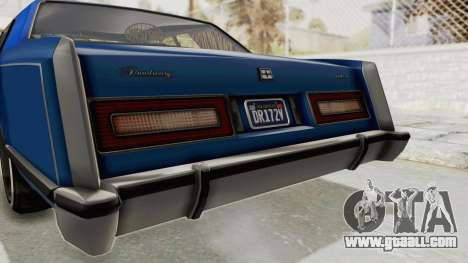 GTA 5 Dundreary Virgo Classic Custom v1 IVF for GTA San Andreas bottom view