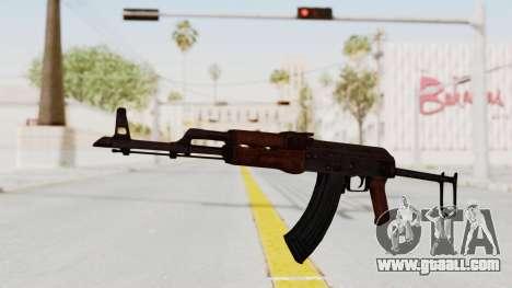 kbk AKMS for GTA San Andreas second screenshot