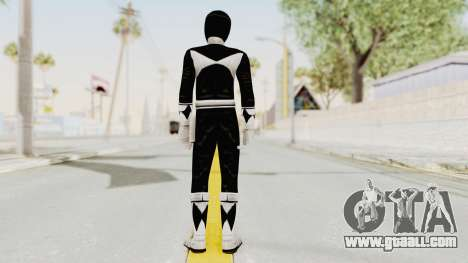 Mighty Morphin Power Rangers - Black for GTA San Andreas third screenshot