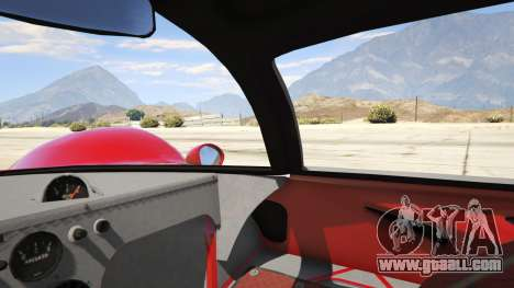 GTA 5 Ferrari 330 P4 1967 rear right side view