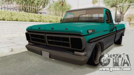 Ford F-150 Black Whells Edition for GTA San Andreas