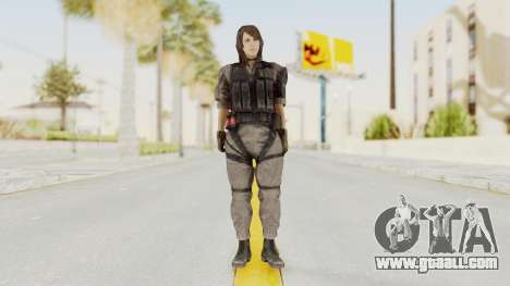 MGSV Phantom Pain Quiet XOF v2 for GTA San Andreas second screenshot