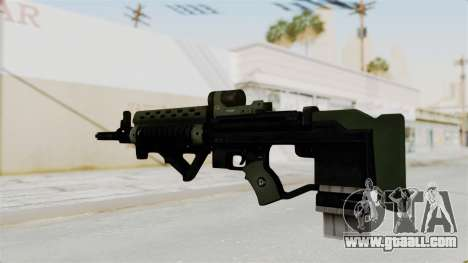 Killzone - M82 Assault Rifle for GTA San Andreas second screenshot