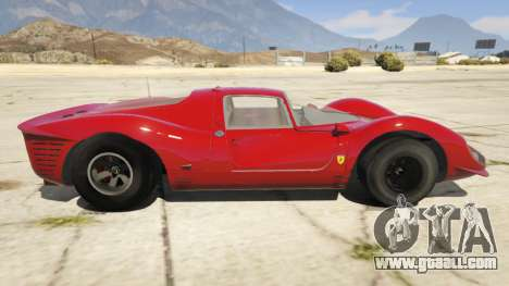 GTA 5 Ferrari 330 P4 1967 left side view
