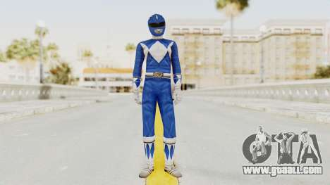 Mighty Morphin Power Rangers - Blue for GTA San Andreas second screenshot