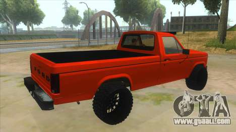 1984 Ford F150 Final for GTA San Andreas