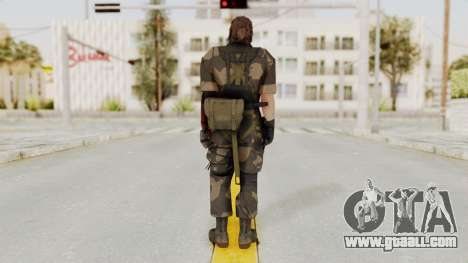 MGSV The Phantom Pain Venom Snake No Eyepatch v4 for GTA San Andreas third screenshot
