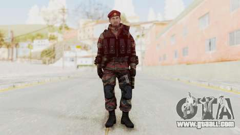 Battery Online Russian Soldier 1 v2 for GTA San Andreas second screenshot