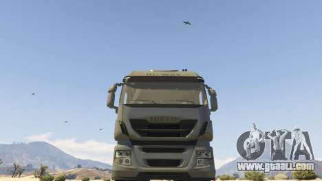 GTA 5 Iveco Stralis HI-WAY right side view