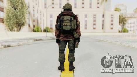 Battery Online Russian Soldier 10 v2 for GTA San Andreas third screenshot