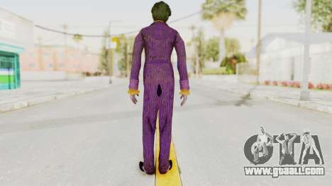 Batman Arkham Knight - Joker for GTA San Andreas third screenshot