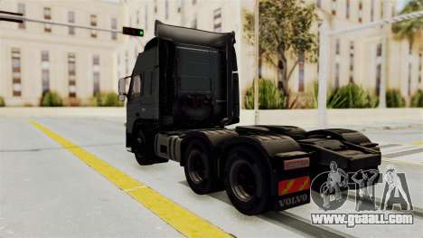 Volvo FM Euro 6 6x4 v1.0 for GTA San Andreas back left view