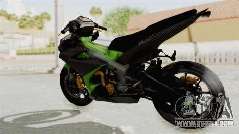 Yamaha MX King 150 Modif 250 GP for GTA San Andreas left view