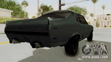Chevrolet Nova 1969 StreetStyle for GTA San Andreas back left view